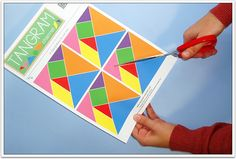 Free printable tangrams to cut out - http://www.tangram-channel.com