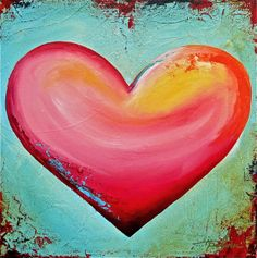 would like to try painting this Heart Pics, Heart Pictures, Love Heart, Valentine Day Love, Valentine Crafts, Valentines, Pet Houses, Decoupage Printables, Unique Anniversary Gifts