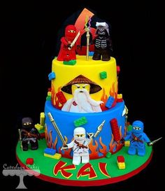 My kiddo would go nuts for this cake! Cake Wrecks - Home - Sunday Sweets: Leggo My LEGO