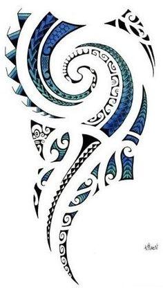 tattoo maori epaule dessin - Recherche Google                                                                                                                                                      More