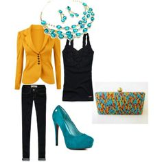 mustard jacket by shellyhaney on Polyvore