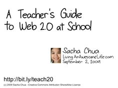 Great web 2.0 and others for teachers..make sure you visit the site and look on the right side for more....