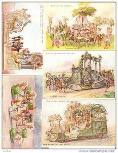 ville de liege visite royale 13/07/1913 litho auguste javaux 10 CARTES imprimer chez benard