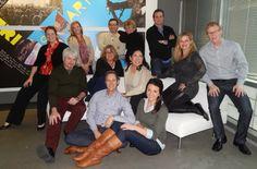 Members from Freeman's Corporate, Audio Visual, and FreemanXP account teams hard at work at #OTCHouston 2014! #FreemanCo #TrueBlue