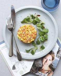 tartare saumon-mangue pour 4 personnes - Recettes Elle à Table