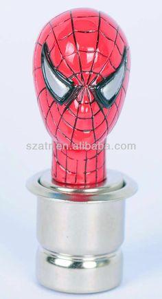 2013 new design universal auto car gear shift knob spider person design,gear knob