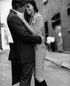 Adriana Lima & David Boreanaz by Pamela Hanson
