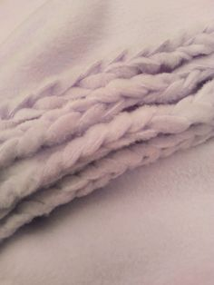 Braided edge fleece blanket tutorial....the best one I've found......the blanket turned out great!!