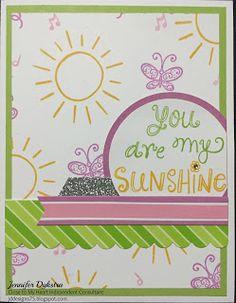 jd designs: Close to My Heart (CTMH) Stamp of the Month Blog Hop -- Sunshine Birdies #ctmhsotm