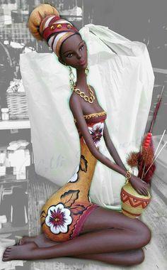 Otra hermosa africana