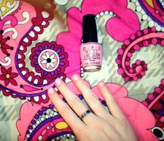 Absolute favorite. Opi: Pink Friday