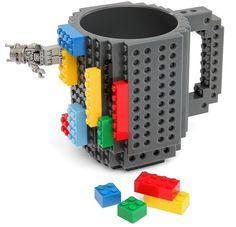 Who wants build a mug with lego brick and at the same time play with it. Be ready to ake your own lego cup with thes fancy blocks. This Lego Coffee Mug lets you build on as much as you want, need a shelf for your cookies build it with Legos! Legos, Lego Mug, Lego Brick, Tea Mugs, Mug Cup, Drinkware, Coffee Cups, Coffee Milk, Leo Coffee