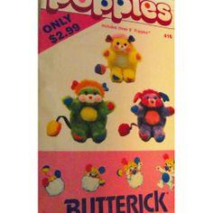 """Butterick 4078 Popples 9"""""""