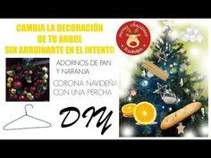DIY- Adornos navideños fáciles y económicos / Adornos de masa de pan y n...