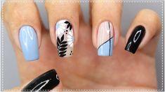 UNHAS DECORADAS FÁCIL E SIMPLES DE FAZER - Nail Art Easy | #GersoniTodoD... Nail Art, Nails, How To Make, Beauty, Youtube, Bling Nails, Blue Gel Nails, Nails Inspiration, Finger Nail Painting