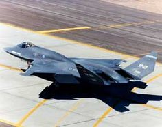Image of the Northrop Grumman YF-23 (Black Widow II) Technology Demonstrator / 5th Generation Fighter Prototype