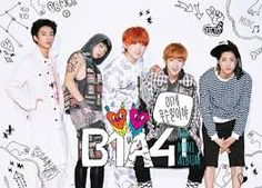 "B1A4  is a South Korean idol group under the management of WM Entertainment. The group debuted in 2011 with their single ""O.K"". They were first introduced to the public through a webtoon. They have released two studio albums, four EPs and various singles in South Korea."