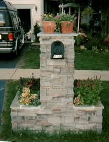 Ideas On Pinterest Brick Mailbox Stone Mailbox And Mailbox Designs