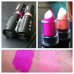 NYX makeup haul: matte lipsticks + swatches, I need to get some!
