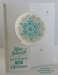 I Love The Stampin' Up! Thinlits to make Flip/Flop Cards www.ddstamps.com #thinlits