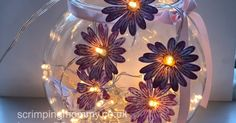 Ok so hands up who doesn't like pretty fairly lights ...not many ! Today's video tutorial shows how easy it is to make great budget h...