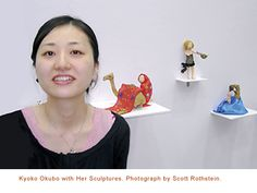 From a Quiet Place: The Paper Sculptures of Kyoko Okubo | The Folk Art Society of America