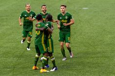 Two Half Men, Half Man, Two Men, Two By Two, Intense Games, Portland Timbers, Man Of The Match, Professional Soccer, Seattle Sounders