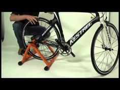 DIY Stationary Exercise Bike Stand - YouTube