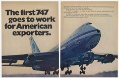 1970 Page 2 & 3 of a four page cargo ad.
