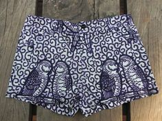 African Shorts - front  love this print!
