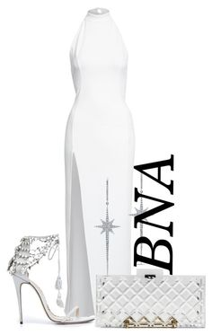 """BNA"" by deborahsauveur ❤ liked on Polyvore featuring NLY Eve, Marchesa and Anne Sisteron"
