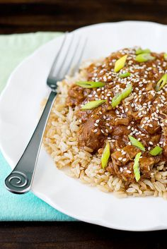 Slow Cooker Honey Sesame Chicken by Courtney | Cook Like a Champion