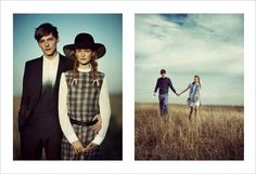Country Story with models Harry Wooler and Anni Jurgenson  client: teen vogue  Boo George - Photographer  Havana Laffitte - Fashion Editor/Stylist    In this picture:    Anni Jurgenson  Harry Wooler