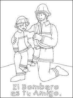 Maestra de Primaria: Dibujos de oficios para colorear ...