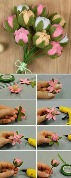 Image result for make felt lavender