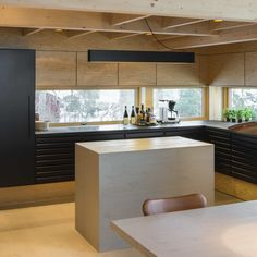 Naturligt køkken i Villa Moelven ejendom fra uno form | Case