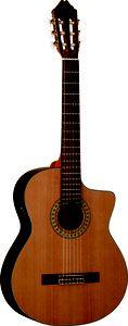 Washburn C104SCE Acoustic-Electric Cutaway Classical Guitar $319.00