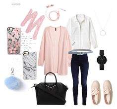 """""""Pink cardigan"""" by doroshencko-daria on Polyvore featuring мода, Lacoste, Hollister Co., Urban Decay, Roberto Coin, Newgate, Casetify, RED Valentino, Miss Selfridge и Givenchy"""