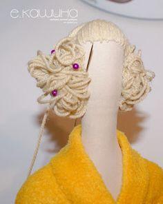 Mimin Dolls: tildas  Tutorial ótimo de cabelo e roupas