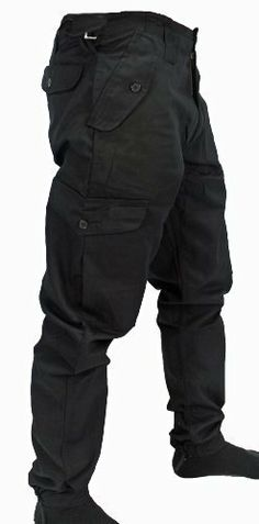 672cd6e21dd Mens Army Combat Work Trousers Pants Combats Cargo by WWK   WorkWear King   Amazon.co.uk  Clothing