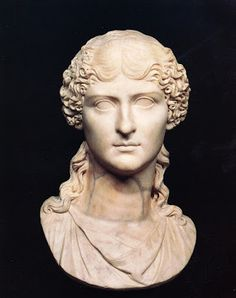 Agrippina the Elder. Rome, Capitoline Museums, Palazzo Nuovo, Hall of the Emperors. Ancient Rome, Ancient Art, Roman Sculpture, Historical Women, Roman History, Roman Art, Greek Art, Classical Art, Portrait