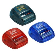 Roller Style and includes Paperclips! Promotional On A Roll Clip Roller | Customized Office Organizers | Promotional Office Organizers