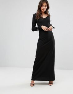 Find the best selection of Only Maxi Dress with Tie Sleeve Detail. Shop today with free delivery and returns (Ts&Cs apply) with ASOS! Dresses For Sale, Dresses For Work, Women's Dresses, Short Long Dresses, High Street Brands, Womens Cocktail Dresses, Latest Dress, Fashion Outfits, Fashion Tips
