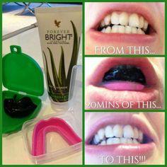Forever Bright Toothgel, NO-FLUOR!