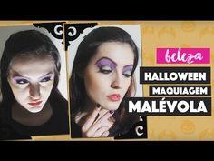 Maquiagem Simples e Fácil da Malévola para o Halloween  (Easy and Simple Maleficent Makeup for Halloween)