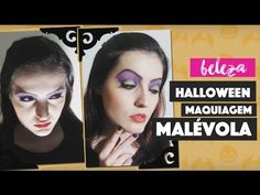 Maquiagem Simples e Fácil da Malévola para o Halloween  (Easy and Simple Maleficent Makeup for Halloween)