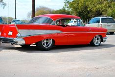 """awesome 1957 Chevy BelAir """"So Fine"""" Pro Cruiser...  Chevy"""