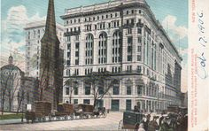 "vintage new york images | ... , which notes the ""New and Old Parkhurst Churches"" next door"
