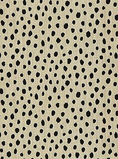 "Pardo Fauna Flaxseed -  Kate Spade NY Fabric - Small dot print on 100% Linen fabric. Ideal for window treatments or furniture upholstery. Heavy Duty 15,000 Double Rubs. Finish Treatment; SANFORIZED UNBRANDED SOIL & STAIN RELEASE FINISH Repeat; V 9"" x 18"". 54"" wide. Made in U.S.A."