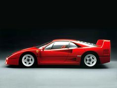 Ferrari F40 : For sure one of my favs!